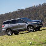 Тойота запустила в реализацию вседорожный автомобиль Fortuner 2016