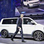 VW T6 встал наконвейер вКалуге