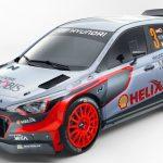 Хюндай официально презентовала новейшую раллийную машину i20 WRC