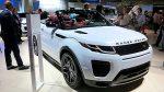 Стала известна стоимость нового кабриолета Range Rover Evoque