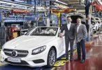 Mercedes рассекретил цены иопции нового S-Class Cabriolet