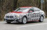 Новый седан БМВ 1-Series был замечен вовремя тестов