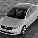 Шкода покажет наавтофоруме вЖеневе новый концептуальный автомобиль VisionS