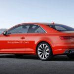 Новое купе Ауди A5 выйдет в реализацию в последующем году