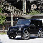 Benz представил обновленный тип знаменитого джипа G63