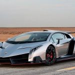 Купе Lamborghini Veneno 2-ой раз замесяц выставлено на реализацию