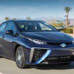 Тойота Mirai признан «зеленым» автомобилем года