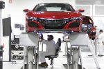 Производство Акура NSX начнется вконце апреля