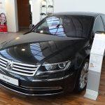 В РФ завершились продажи седана VW Phaeton
