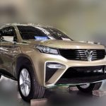 Кроссовер Weichai Auto Yingzhi U80 поступит в реализацию осенью