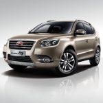 Продажи улучшенного Geely Emgrand X7 в Российской Федерации стартуют 25марта