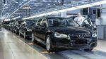 ВГермании новый Ауди A8 S-class встал народной конвейер