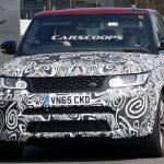 Улучшенный Range Rover Sport SVR 2017 замечен на пробных испытаниях